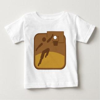 Basketball_dd.png ベビーTシャツ