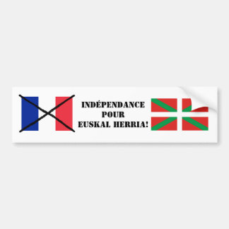Basque Country Independence Bumper Sticker 2