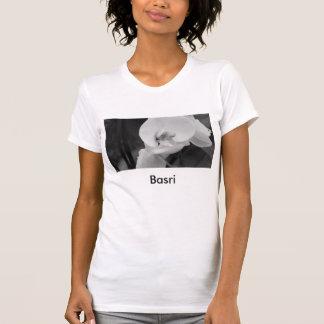 BasriおよびAvon著永久に花の丸首 Tシャツ