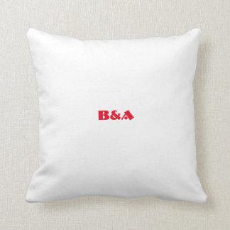 Basriのロゴのスタイルの枕 クッション