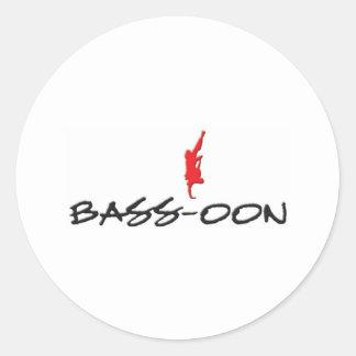 Bass-Oon.com ラウンドシール