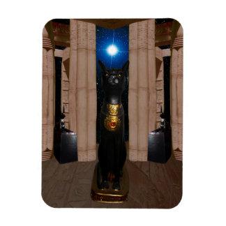 Bastetの写真の磁石の寺院 マグネット