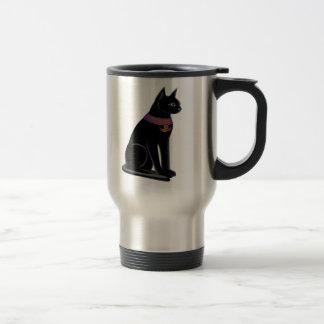 Bastet猫のタンブラー トラベルマグ