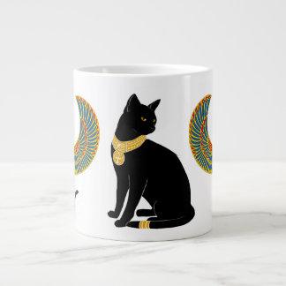Bastet: Isisの飛んだ猫! ジャンボコーヒーマグカップ