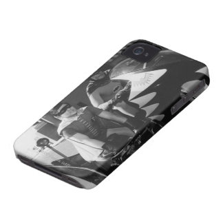 Batcycleのバットマンそしてロビン Case-Mate iPhone 4 ケース