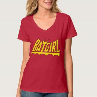 Batgirlのロゴ Tシャツ