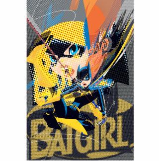 Batgirlの振動蹴り フォトスカルプチャー
