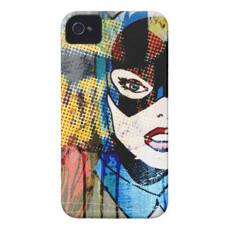 Batgirlの頭部 Case-Mate iPhone 4 ケース