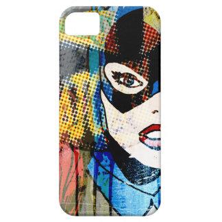 Batgirlの頭部 iPhone SE/5/5s ケース