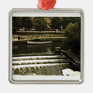 Bathのイギリスの1986年のスナップ11510artのjGibney博物館 メタルオーナメント