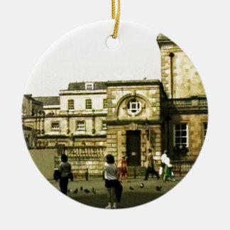 Bathのイギリスの1986年のスナップ12152のjGibney博物館Za セラミックオーナメント