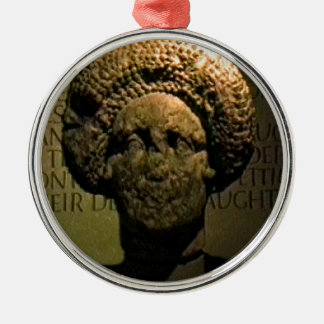 Bathのイギリス1986のローマの女性Statue1のスナップ17383 j メタルオーナメント