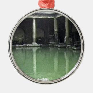 Bathのイギリス1986のローマBath1スナップ23487のjGibney T メタルオーナメント