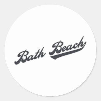Bathのビーチ ラウンドシール