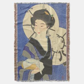 Bathouseの日本のな美しい スローブランケット