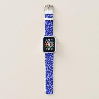 Batik Blue Leopard Band Apple Watchバンド
