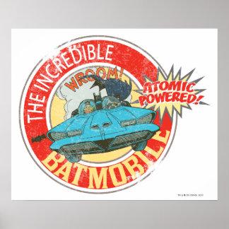 Batmobile信じられないいアイコン ポスター