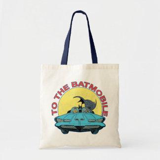 Batmobile -動揺してなアイコンに トートバッグ