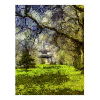 Battersea公園の塔の芸術 ポストカード