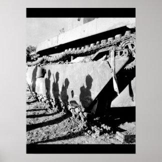 battle-wrecked_Warイメージのフランク ポスター