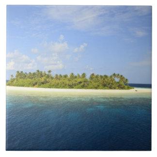 Baughagelloの島、Huvadhooの南環礁、3 タイル