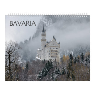 Bavaria 2018 Wall Calendar カレンダー
