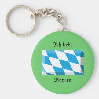 Bayernの旗の宝石 キーホルダー