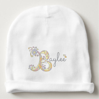 Bayleeかあなた自身のBの一流の女の赤ちゃんの帽子 ベビービーニー