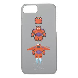 Baymaxのオレンジによってすごいスーツ iPhone 8/7ケース
