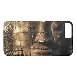 Bayonの寺院のアンコール・ワットの写真のヒンズー教の古代台なし iPhone 8 Plus/7 Plusケース