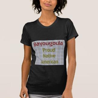 BAYOUGOULA: 誇り高いネイティブアメリカン Tシャツ