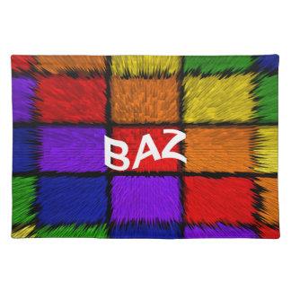 BAZ (男性の名前) ランチョンマット