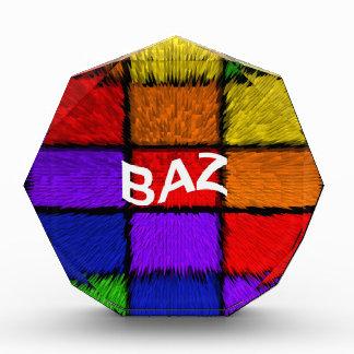BAZ (男性の名前) 表彰盾