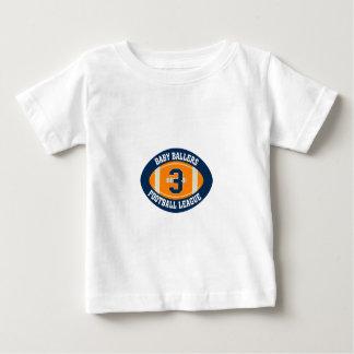 BBフットボール ベビーTシャツ