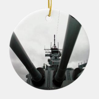 BB-62戦艦ニュージャージー セラミックオーナメント