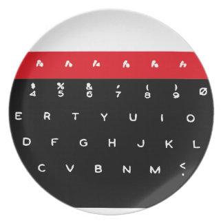BBCのマイクロキーボードのキー プレート