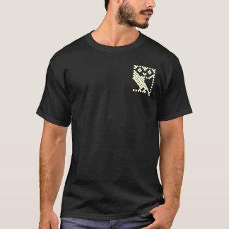 BBCのマイクロフクロウ-小さいクリーム Tシャツ