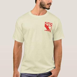 BBCのマイクロフクロウ-小さい赤 Tシャツ