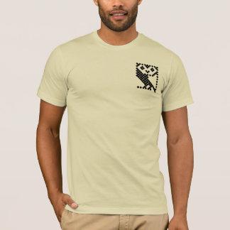 BBCのマイクロフクロウ-小さい黒 Tシャツ
