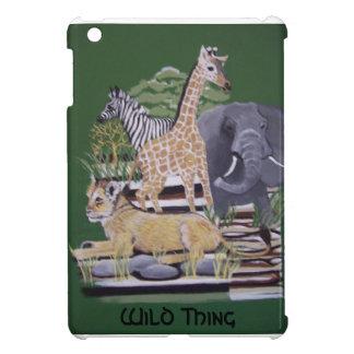 bbillipsによって絵を描いている野生の事のアフリカ動物 iPad mini case