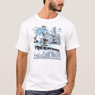 BBoyのフリースタイル Tシャツ