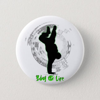 Bboy 4生命ボタン 5.7cm 丸型バッジ