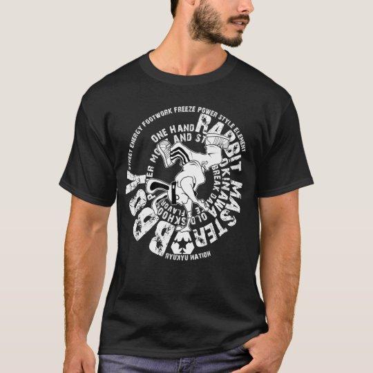 bboy rabbit tシャツ