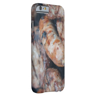 BBQのソーセージのiPhone 6/6s Barely There iPhone 6 ケース