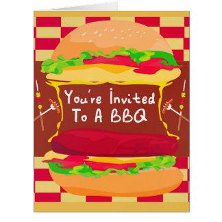 BBQのパーティーカード カード
