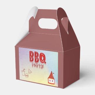 BBQのパーティー フェイバーボックス