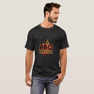 BBQのマスターはBBQのプロフェッショナルのためのTシャツを設計しました Tシャツ