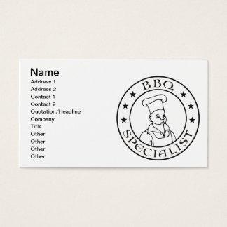 BBQの専門家 名刺