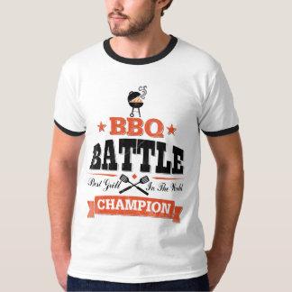 BBQの戦いのチャンピオン Tシャツ