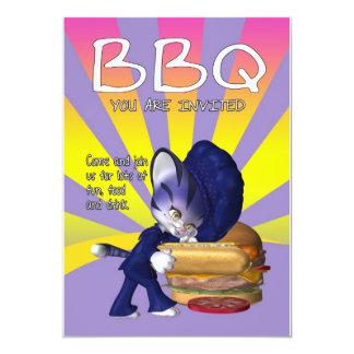 BBQの招待状カード- BBQの招待 カード